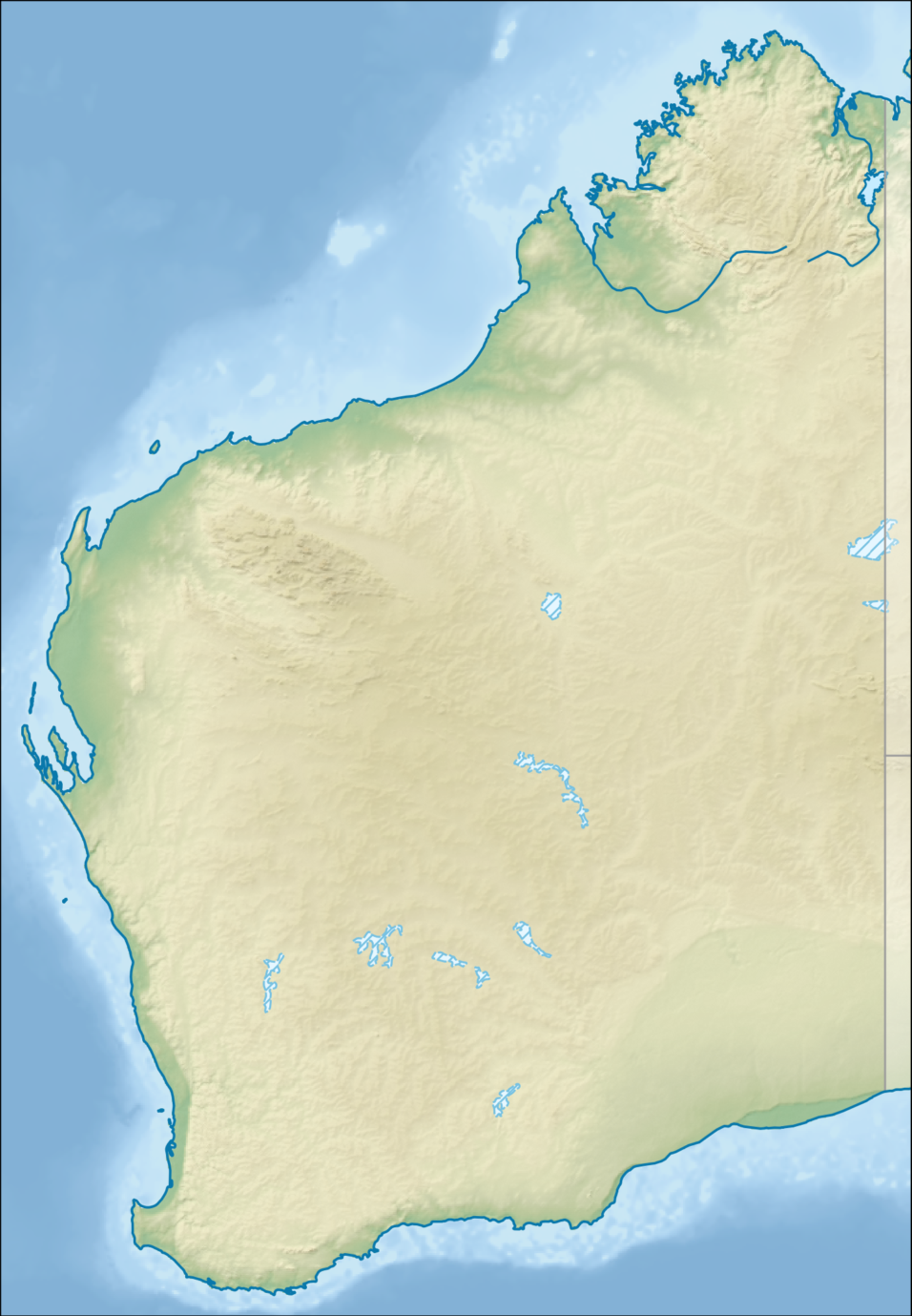 Australia_Western_Australia_relief_location_map